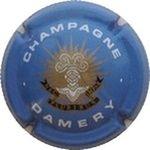 Capsule CHAMPAGNE DAMERY NEC PLURIBUS IMPAR TELMONT (J. de) 598