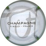Capsule CHAMPAGNE A BOUZY FRANCE TH TORNAY-HUTASSE 1452