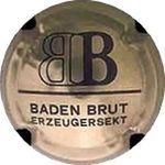 Capsule BB BADEN BRUT ERZEUGERSEKT WINZERGEN 1194