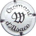 Capsule W CREMANT D'ALSACE WOLFBERGER 1317